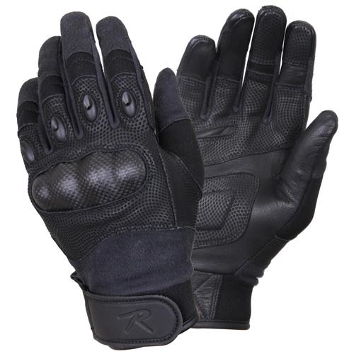 Carbon Fiber Hard Knuckle Tactical Gloves