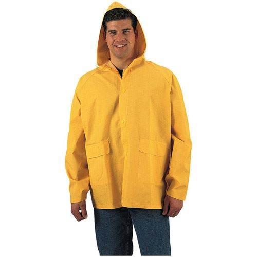 Mens PVC Rain Jacket