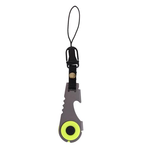 Zipper Pull Flashlight/Bottle Opener