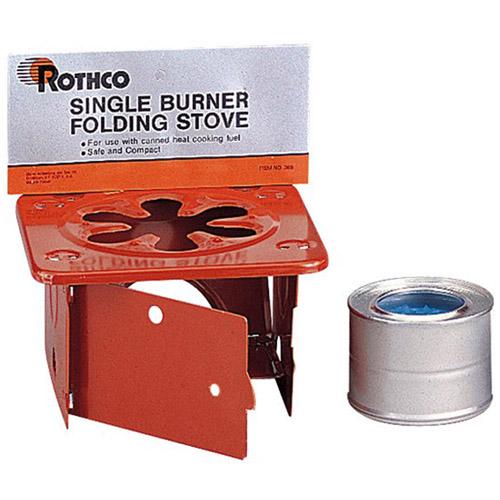 Single Burner Folding Stove