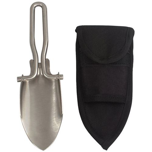 Stainless Steel Folding Shovel With Sheath