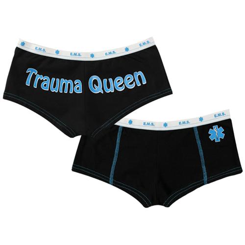 Womens Trauma Queen Booty Shorts