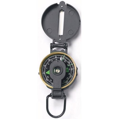 Lensatic Metal Compass