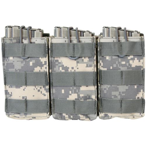Molle Open Top Triple Mag Pouch