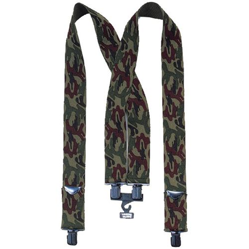 Camo Pants Suspenders