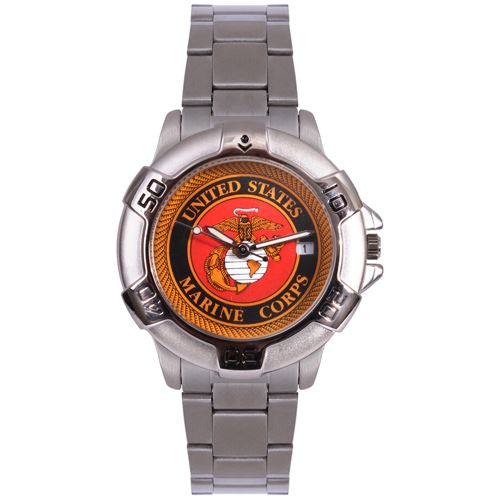 Marine Corps Logo Quartz Watch