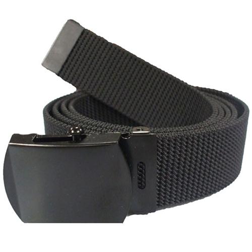 Black Nylon 44 Inches Web Belt