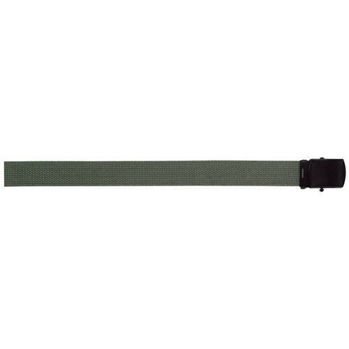 Military Web Belts 54 Inch with Black Buckle