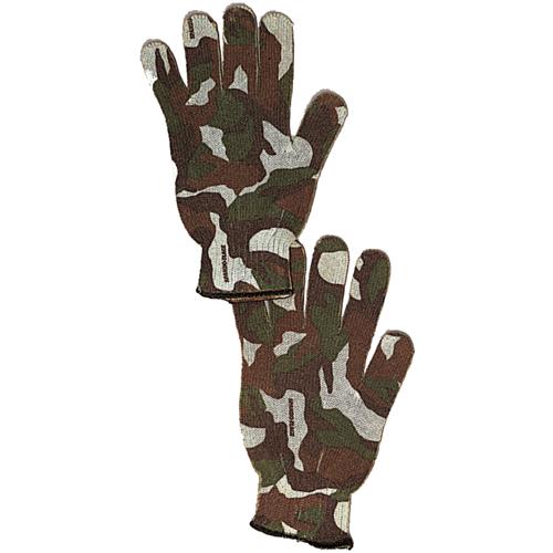 Spandoflage Woodland Camo Hunting Gloves