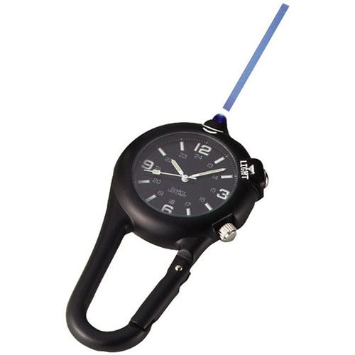 Clip Watch With LED Light