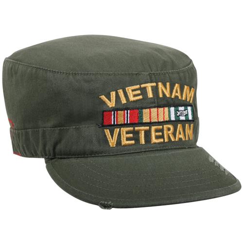 Vintage Vietnam Veteran Fatigue Cap
