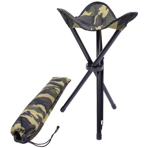 Collapsible Stool with Carry Strap