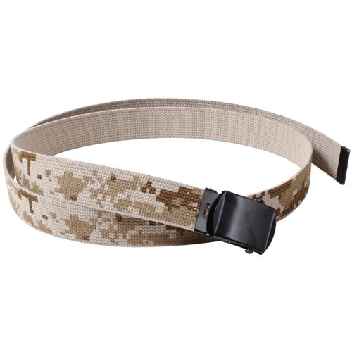 Camo Reversible 54 Inch Web Belt