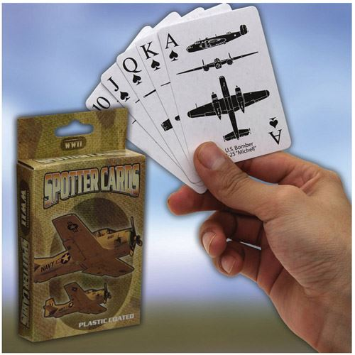 WWII Spotter CE Playing Cards