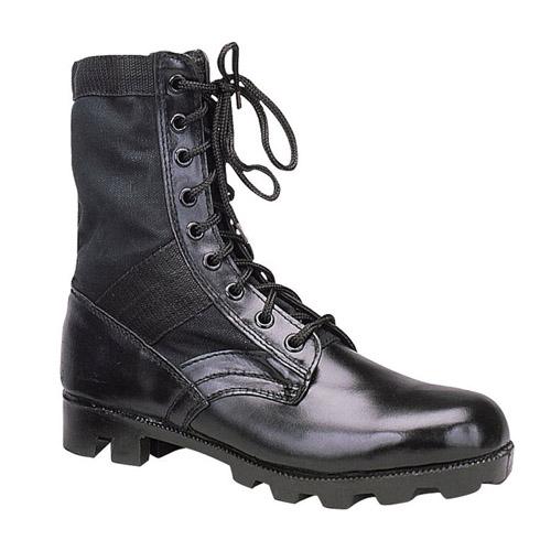 G.I. Type Black Steel Toe Jungle Boot