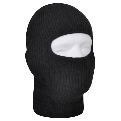 Fine Knit One Hole Facemask