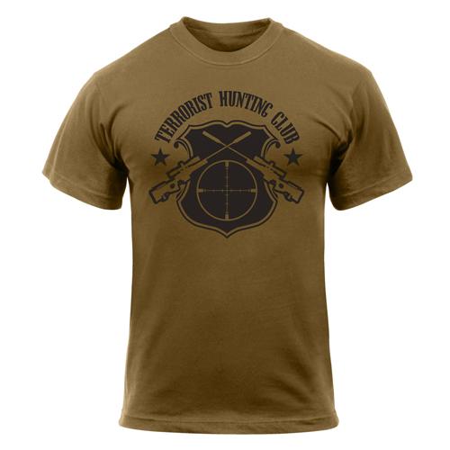 Terrorist Hunting Club T-Shirt