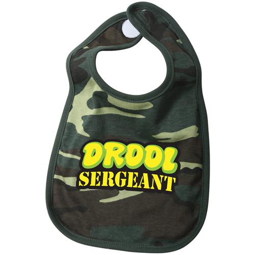 Drool Sergeant Infant Bib