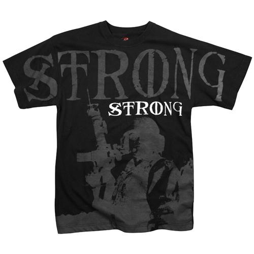 Ultra Force Vintage Black Strong T-Shirt