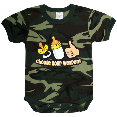 Infant Choose Your Weapon One-Piece