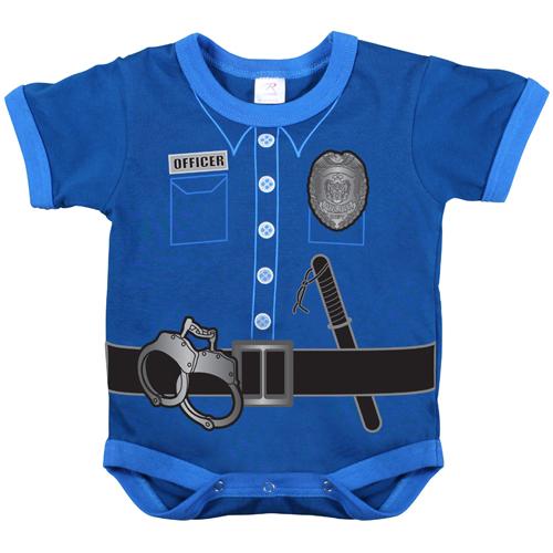 Infant Police Uniform One Piece