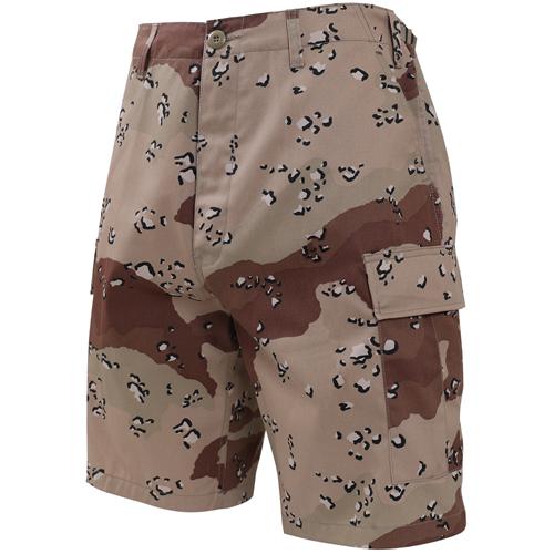 Ultra Force Desert Camo BDU Combat Shorts