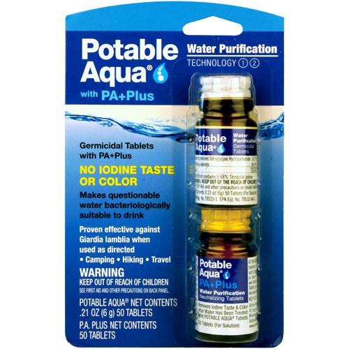 Potable Aqua P.A. Plus 2 Step Water Treatment