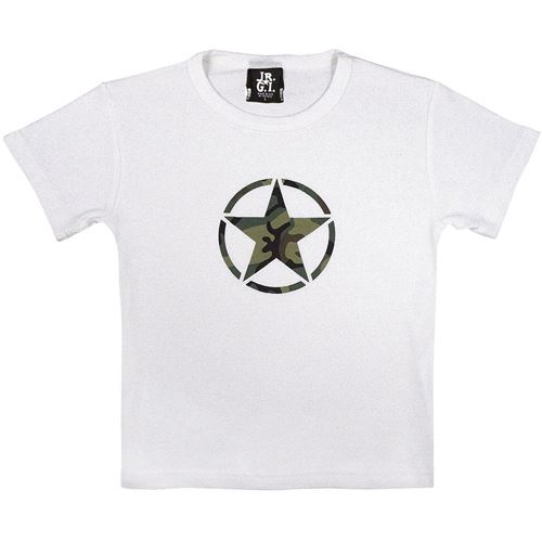 Girls Camo Star T-Shirt