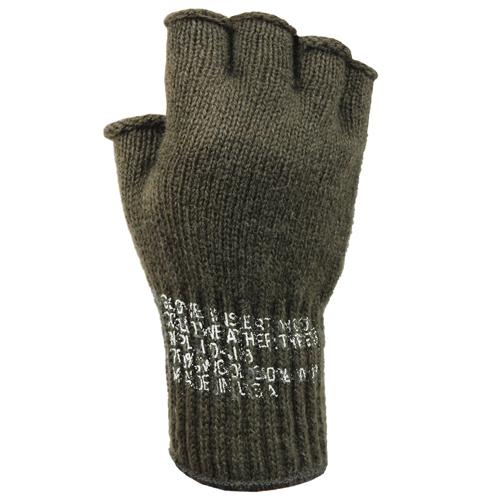 Fingerless Wool Gloves