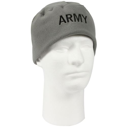 Army Military Embroidered Polar Fleece Watch Caps