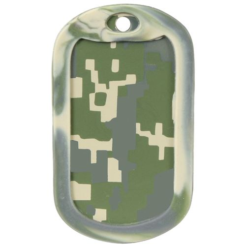 Ultra Force Army Digital Camo Dog Tag Silencers