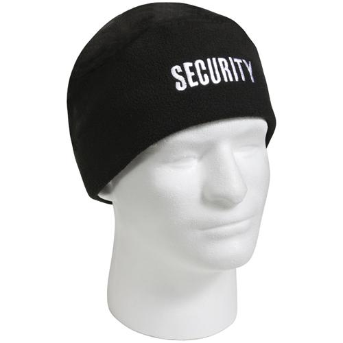 Ultra Force Black Polar Fleece Security Watch Cap