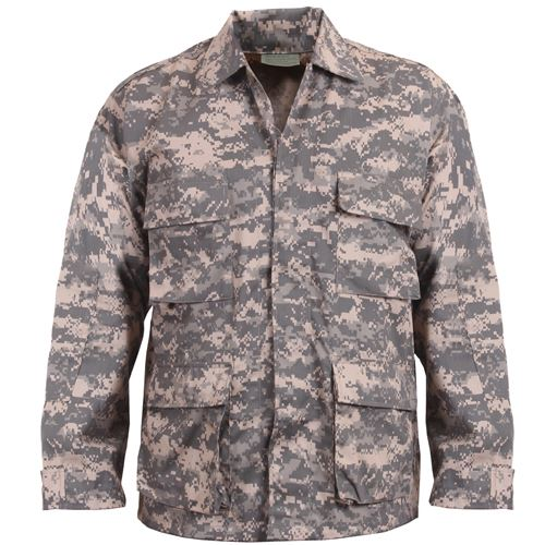 Mens Digital Camo BDU Shirt