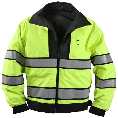 Mens Reversible Hi-Visibility Uniform Jacket
