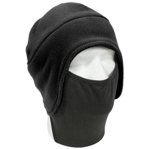 Convertible Fleece Cap with Poly Facemask