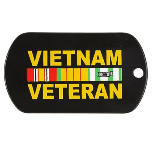 Dog Tag Vietnam Veteran