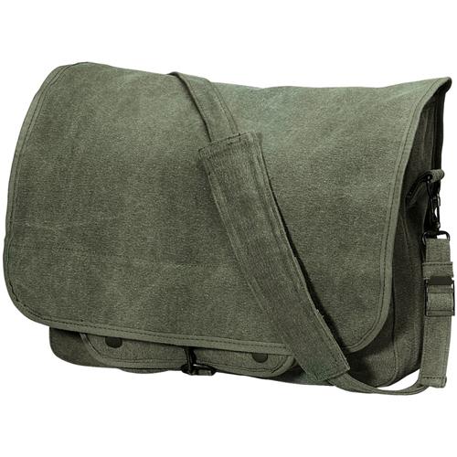 Vintage Canvas Paratrooper Bag