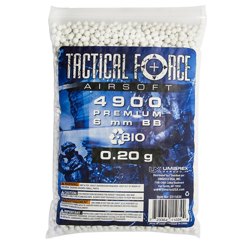 Tactical Force Biodegradable Airsoft BBs