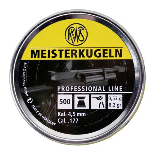 Meisterkugeln .177 Wadcutter Pellets - 500ct