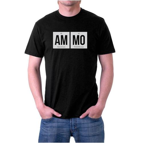 Ammo Elements Custom Printed Black T-shirt