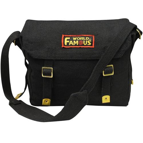 WFS Canvas Shoulder Bag