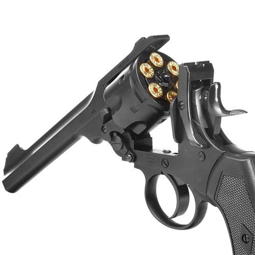 MKVI Service 6mm Steel BB Revolver - 6 Shot