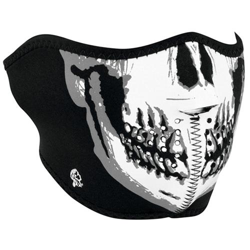 Zan Headgear Neoprene Glow In The Dark Half Face Mask