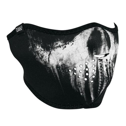Neoprene Skull Ghost Half Face Mask