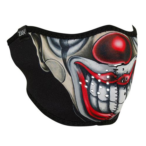 Neoprene Chicano Clown Half Face Mask