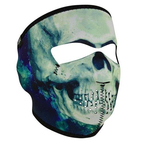 Neoprene Paint Skull Full Face Mask
