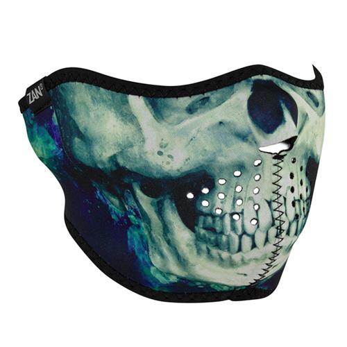 Neoprene Paint Skull Half Face Mask